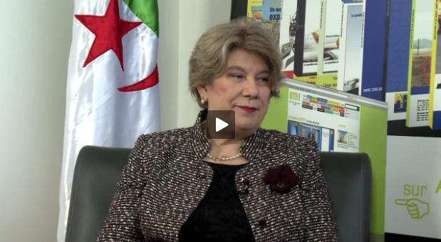 <span style='font-weight:300;'>Spécial Batimatec du 17 au 19 mai 2014</span><br/>Alicia Romeo, directrice d&rsquo;ARVA Consulting  spécialisé dans les relations Algérie-espagne