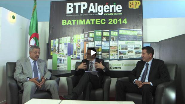 <span style='font-weight:300;'>Spécial Batimatec du 23 au 25 mai 2014</span><br/>Hamid Zeggane, directeur général de Bativert & Mohamed Yassine Hafiane, President du directoire du groupe Indjab
