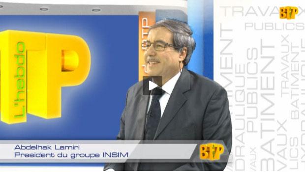 Abdelhak Lamiri, President du groupe INSIM
